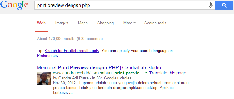 Seting Google Author Link di WordPress